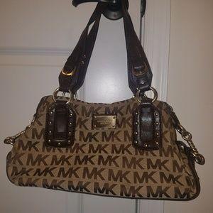 Michael Kors brown MK purse